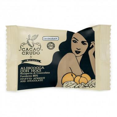 Abricot et noix recouverts de...