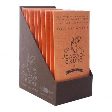 Zeste d'orange cacao 77%