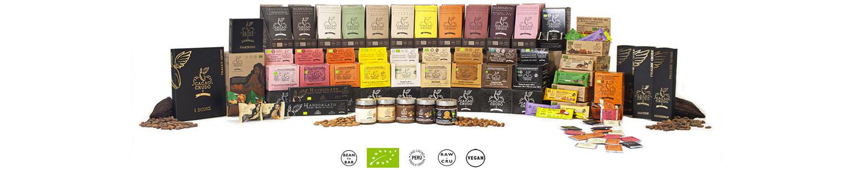 Vendita Cioccolato Crudo e Barrette e Monoporzioni di Frutta e Torroni